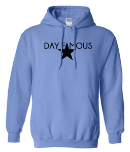 blue day famous pullover hoodie