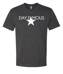 charcoal day famous crewneck t shirt