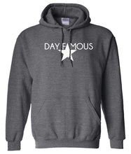 Load image into Gallery viewer, charcoal day famous pullover hoodie