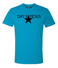 Load image into Gallery viewer, turquoise day famous crewneck t shirt