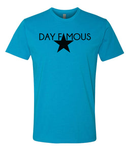 turquoise day famous crewneck t shirt