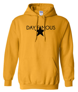 yellow day famous pullover hoodie