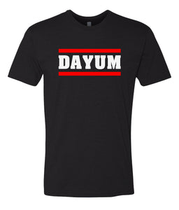 black dayum crewneck t shirt