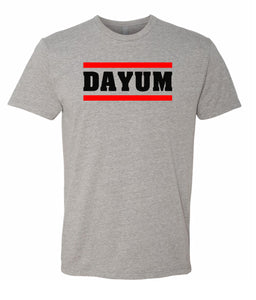 grey dayum crewneck t shirt