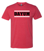 Load image into Gallery viewer, red dayum crewneck t shirt