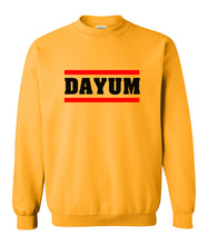 Load image into Gallery viewer, yellow dayum sweatshirt