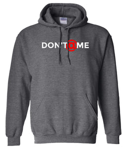 charcoal don't at me pullover hoodie