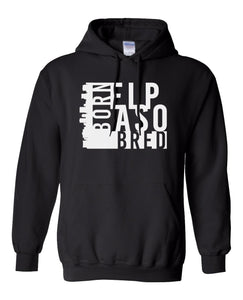 black El Paso born and bred hoodie