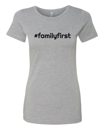family first women's t-shirt