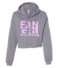 Load image into Gallery viewer, storm fan girl cropped hoodie
