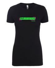 Load image into Gallery viewer, florescent green fashionable neon streetwear t shirt for women