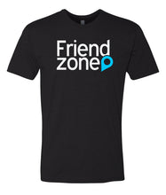 Load image into Gallery viewer, black friend zone crewneck t shirt