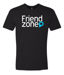 black friend zone crewneck t shirt