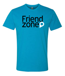 turquoise friend zone crewneck t shirt