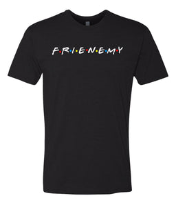 black frenemy crewneck t shirt