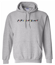 Load image into Gallery viewer, grey frienemy friends hoodie