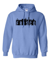 Load image into Gallery viewer, blue San Fransisco Frisco hoodie