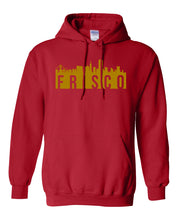 Load image into Gallery viewer, red San Fransisco Frisco hoodie