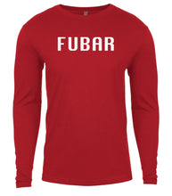 Load image into Gallery viewer, red fubar mens long sleeve shirt