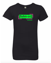 Load image into Gallery viewer, florescent green funny neon streetwear t shirt for girls