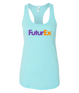 blue future ex racerback tank top