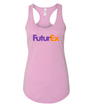 Load image into Gallery viewer, pink future ex racerback tank top