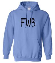 Load image into Gallery viewer, blue fwb mens pullover hoodie
