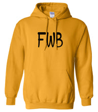 Load image into Gallery viewer, yellow fwb mens pullover hoodie