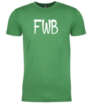 Load image into Gallery viewer, green fwb mens crewneck t shirt