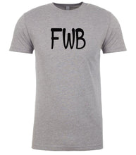 Load image into Gallery viewer, grey fwb mens crewneck t shirt