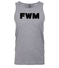 Load image into Gallery viewer, grey fwm mens tank top