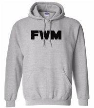 Load image into Gallery viewer, grey fwm mens pullover hoodie