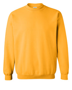 gold crewneck sweatshirt
