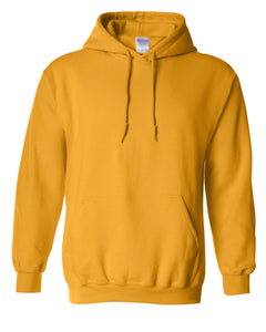 gold pullover hoodie