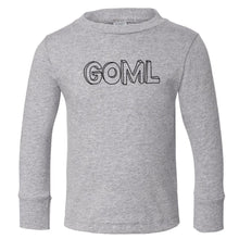 Load image into Gallery viewer, grey GOML long sleeve t shirt for toddlers