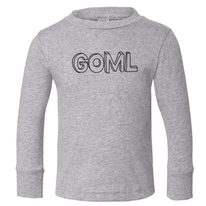 grey GOML long sleeve t shirt for toddlers