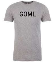 Load image into Gallery viewer, grey goml mens crewneck t shirt