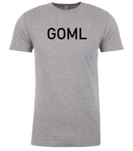 grey goml mens crewneck t shirt