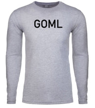 Load image into Gallery viewer, grey goml mens long sleeve shirt