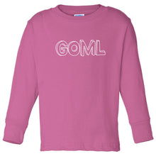 Load image into Gallery viewer, pink GOML long sleeve t shirt for toddlers