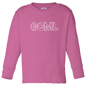 pink GOML long sleeve t shirt for toddlers