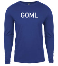 Load image into Gallery viewer, blue goml mens long sleeve shirt
