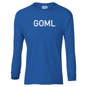 blue GOML youth long sleeve t shirt for boys