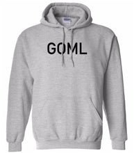 Load image into Gallery viewer, grey goml mens pullover hoodie