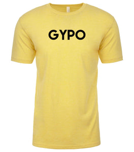yellow gypo mens crewneck t shirt