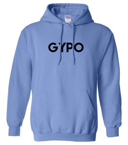 blue gypo mens pullover hoodie