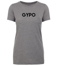 Load image into Gallery viewer, grey gypo womens crewneck t shirt