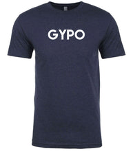 Load image into Gallery viewer, navy gypo mens crewneck t shirt