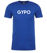 Load image into Gallery viewer, blue gypo mens crewneck t shirt