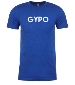 blue gypo mens crewneck t shirt